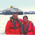 Mom & Dad in Antarctica