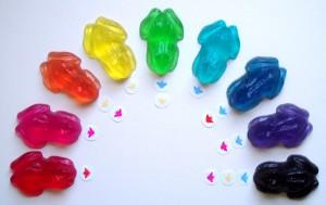 Photo: Soap colors