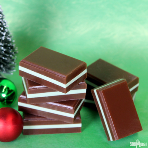 12 Days of Christmas: Chocolate Mint Melt and Pour Squares Kit
