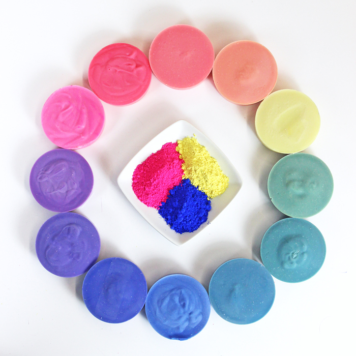 Tips On Blending Great Colors With Beige: Create A Rainbow: Mixing Colors In Cold Process Soap