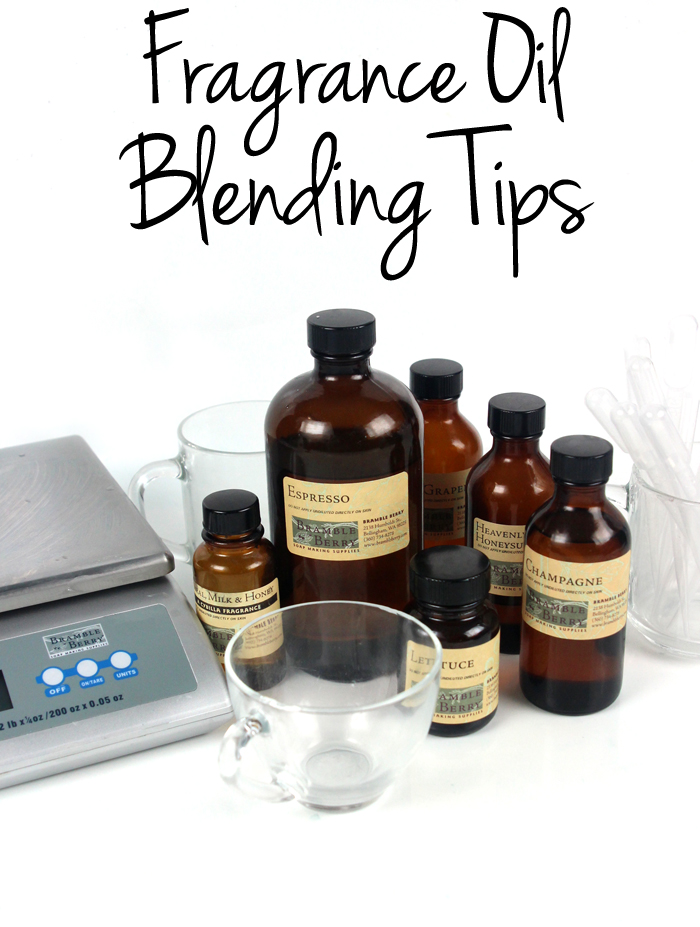 Fragrance Oil Blending Tips