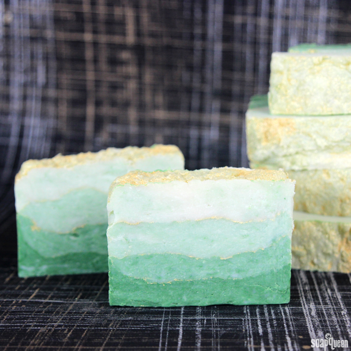 Luck of the Irish Hot Process Soap3