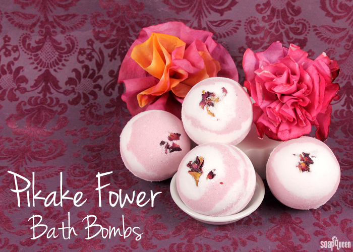 Pikake Flower Bath Bombs - Soap Queen