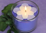 Purple Blackberry Flower Candle3