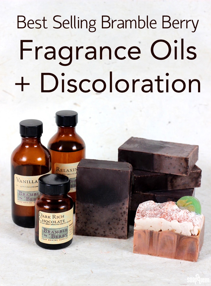 Best Selling Bramble Berry Fragrance Oils + Discoloration