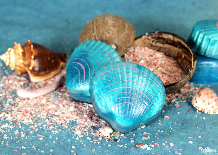 Learn how to create your very own Mermaid Shell Soap!