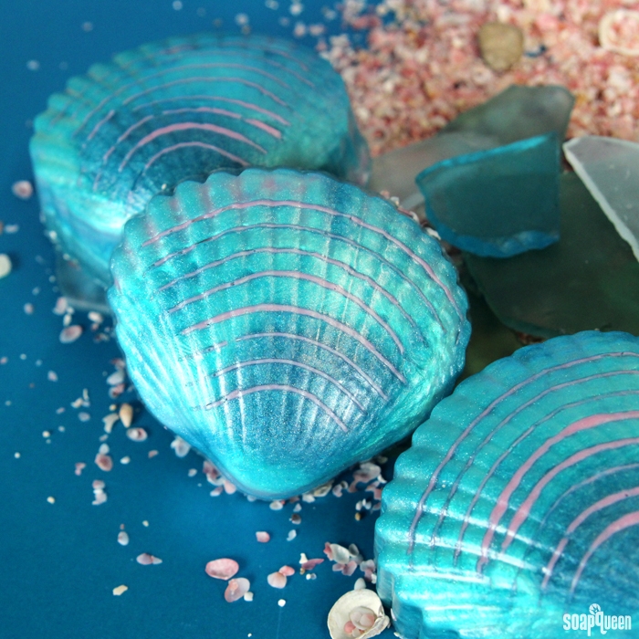 Mermaid Shell Melt and Pour Kit
