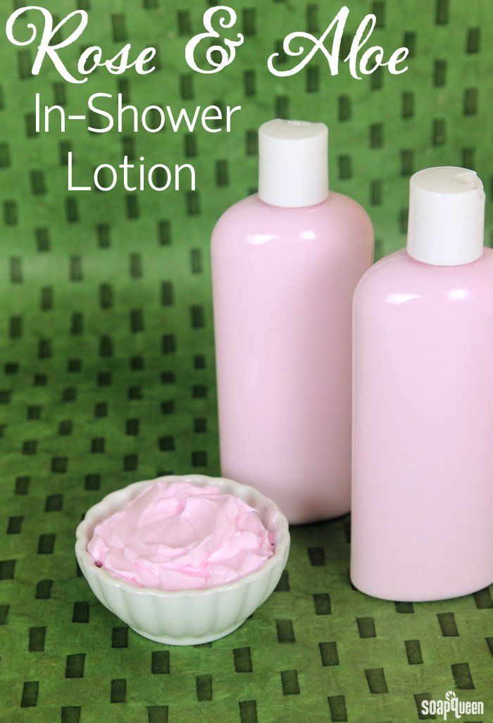 Rose and Aloe In-Shower Lotion