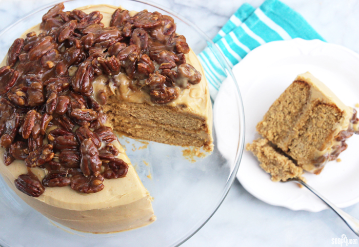 butterscotch pecan cake Archives - Soap Queen