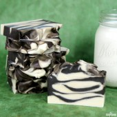 Creamy Cow Milk Cold Process Soap Tutorial