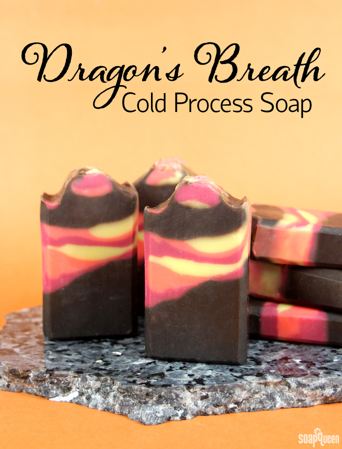 Dragon's Breath Cold Process Tutorial