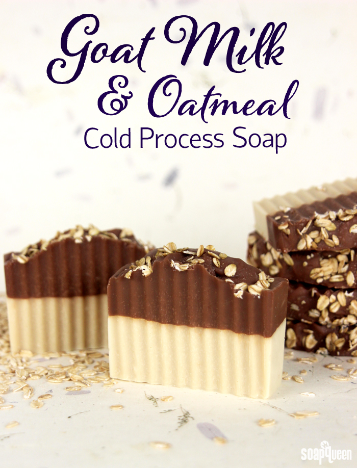 Goat Milk and Oatmeal Soap Tutorial