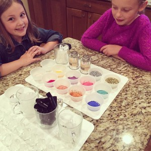 Yes, making nail polish can be messy but with adult supervision, anything is possible!
