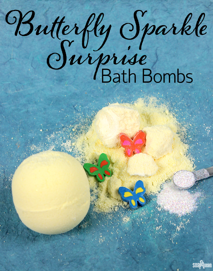 Butterfly Sparkle Surprise Bath Bomb