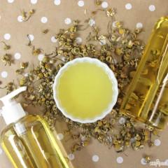 Herb Infused Bath Oil DIY