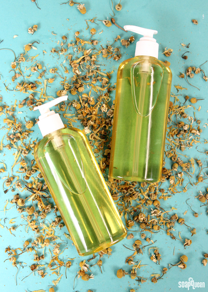 Herb Infused Bath Oil DIY on Soap Queen