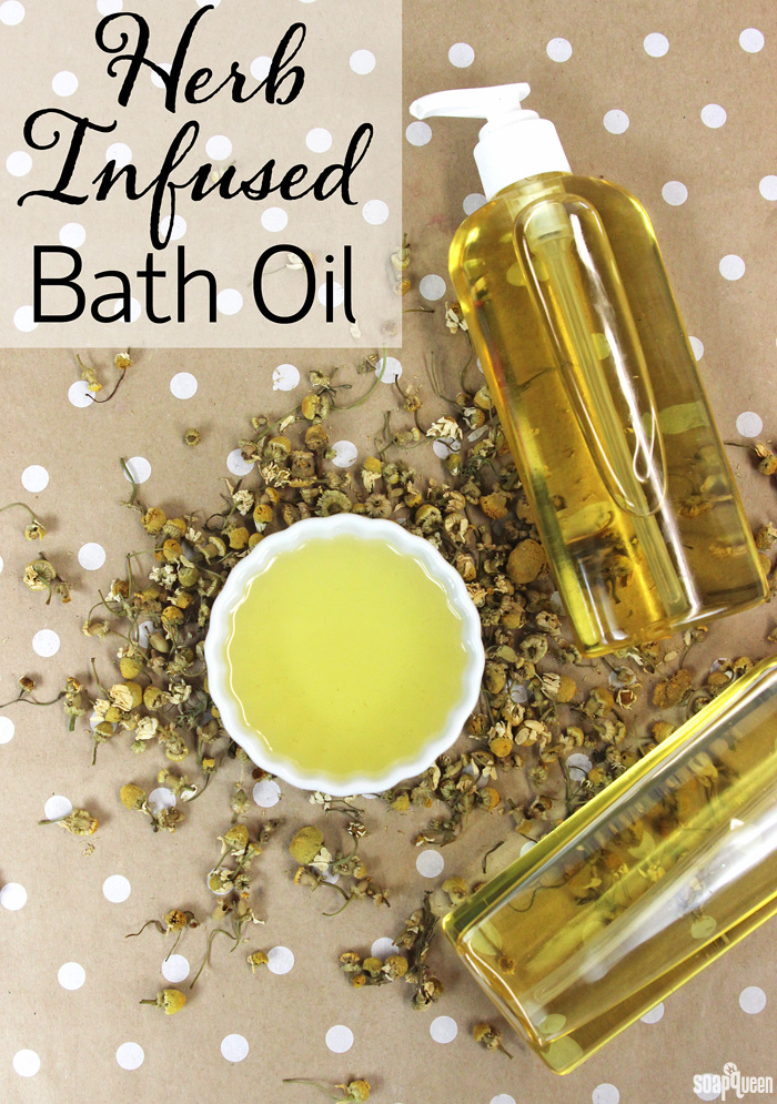 Herb Infused Bath Oil