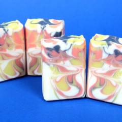 Monarch Butterfly Swirl Cold Process Soap DIY