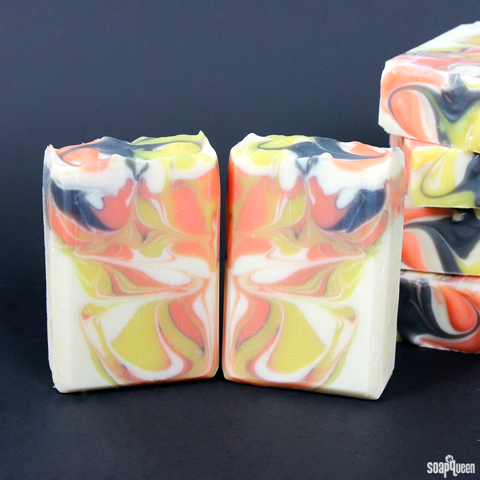 Monarch Butterfly Swirl Cold Process Soap Kit