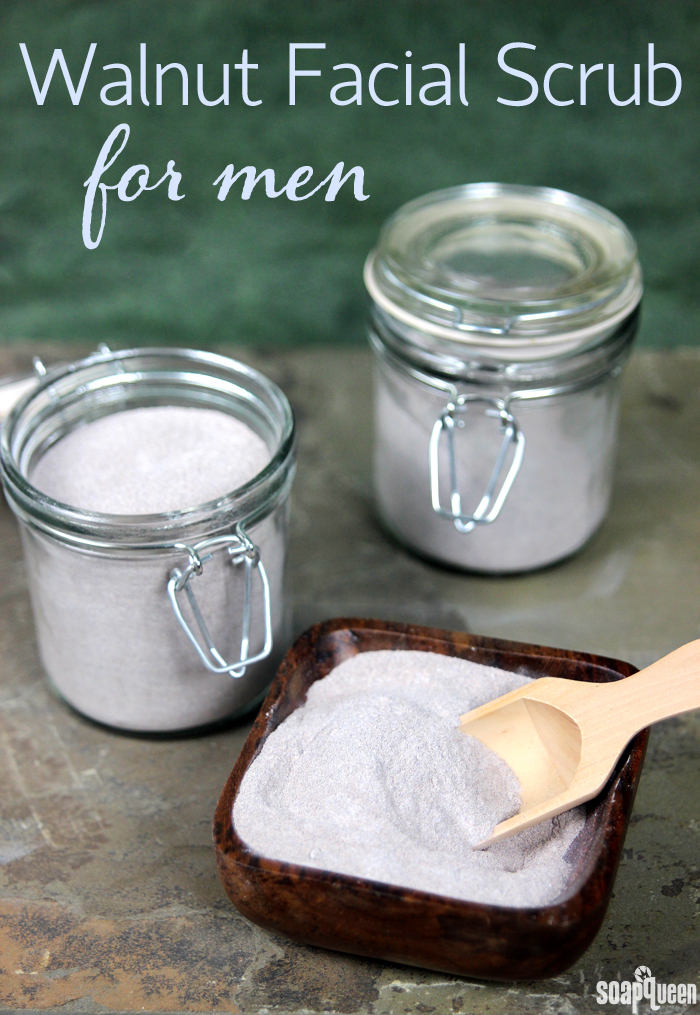 facial scrub men