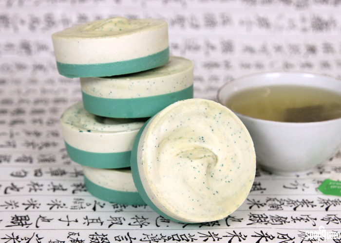 Exfoliating Green Tea Bars Tutorial