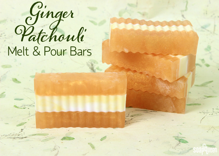 Ginger Patchouli Melt and Pour Tutorial