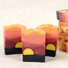 Sahara Sunset Cold Process Soap
