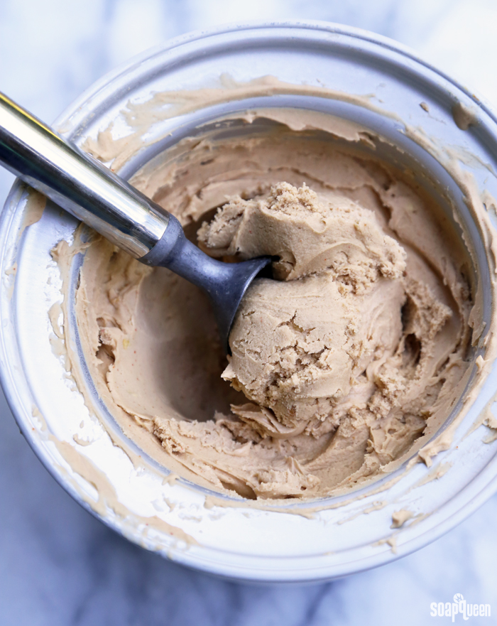 Spicy Peanut Ice Cream