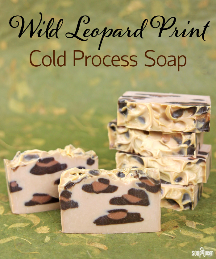 Wild Leopard Print Cold Process Soap