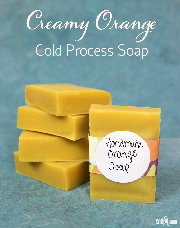 Creamy Orange Cold Process Soap