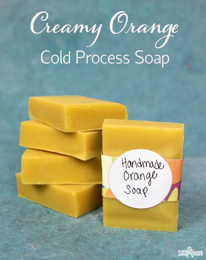 Creamy Orange Cold Process Soap
