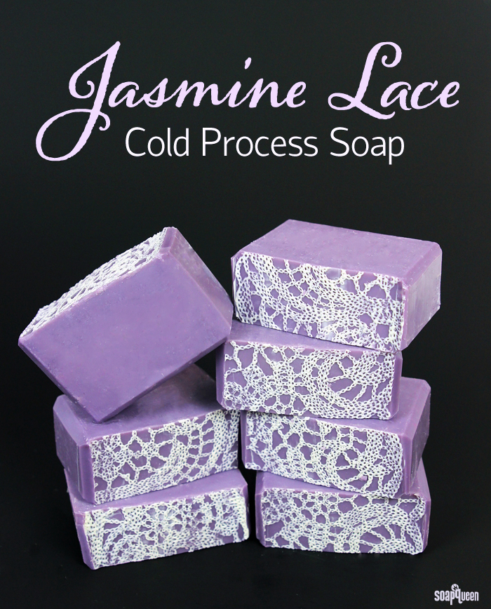 Jasmine Lace Cold Process Tutorial