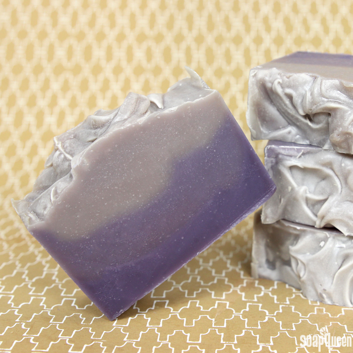 Layered Lavender Cold Process Soap Tutorial