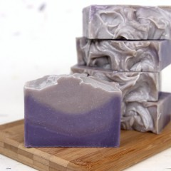 Layered Lavender Soap Tutorial