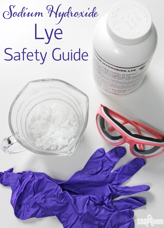 Sodium Hydroxide Lye Saftey Guide