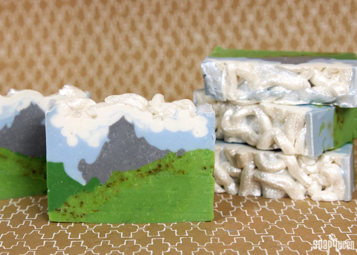 Alpine Adventures Cold Process Soap Tutorials