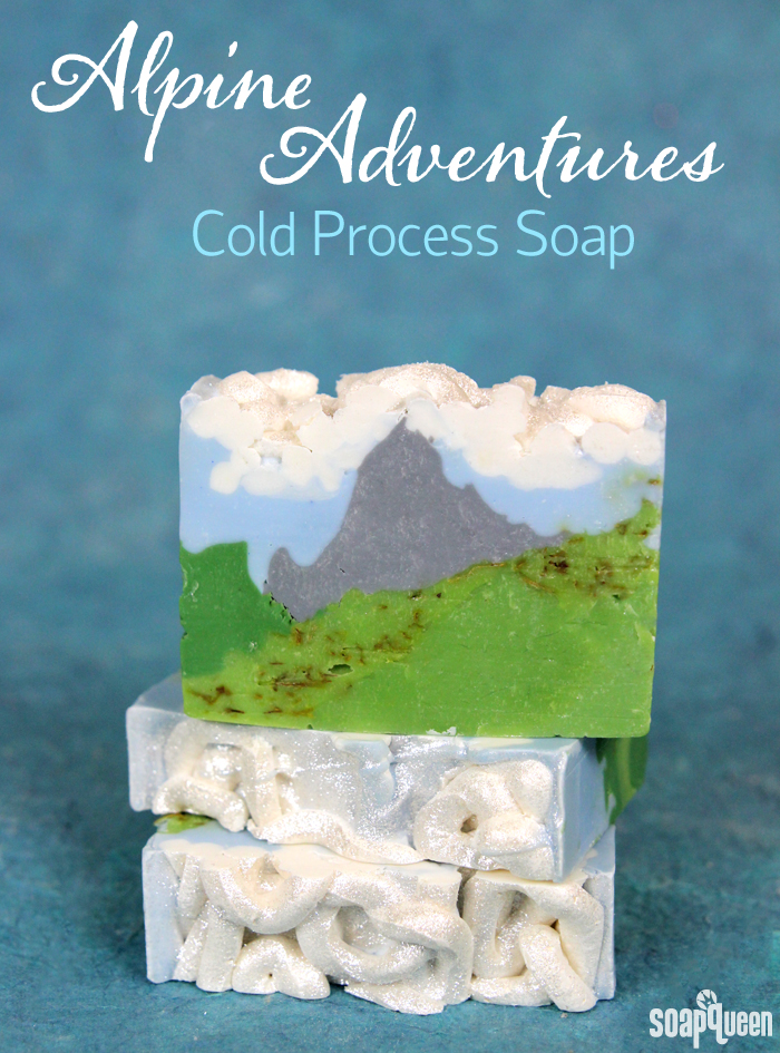 Alpine Adventures Cold Process Soap