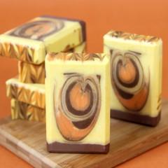 Pumpkin Spice Swirl Cold Process Tutorial