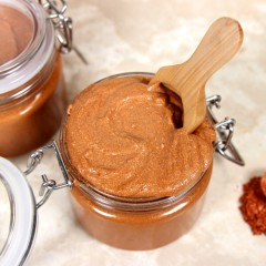 Caramelized Copper Sugar Scrub