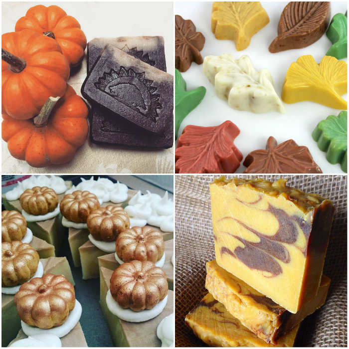 Looking for fall project ideas? This blog post includes recipes for fall inspired scrubs, soap, candles and more!