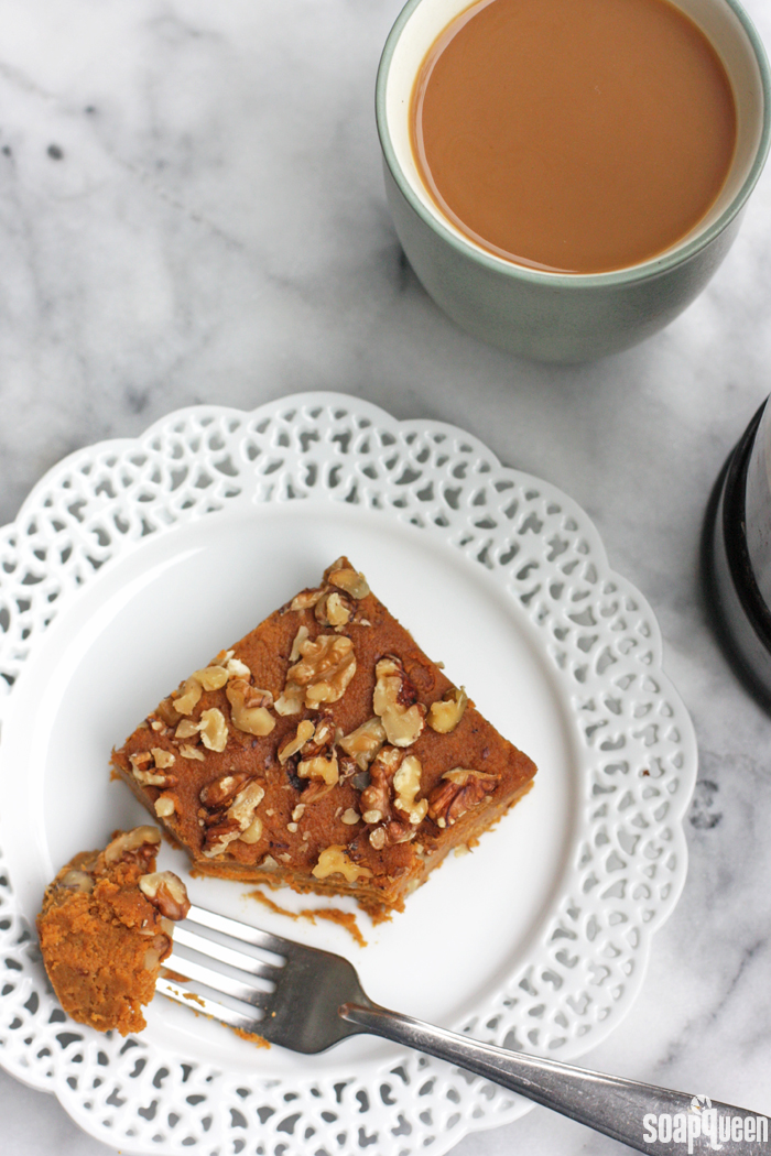 Made with coconut flour, these Pumpkin Breakfast Bars are moist and taste just like pumpkin pie!