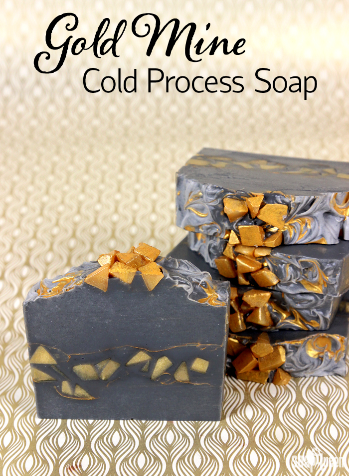 Gold Mine Cold Process Soap Tutorial Soap Queen