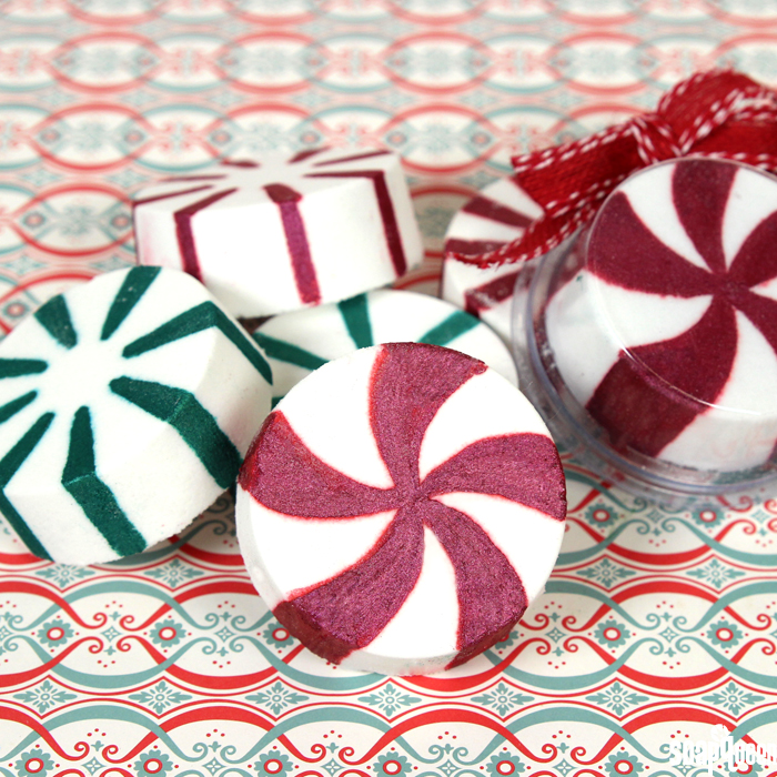 Peppermint Candy Bath Bombs Tutorial