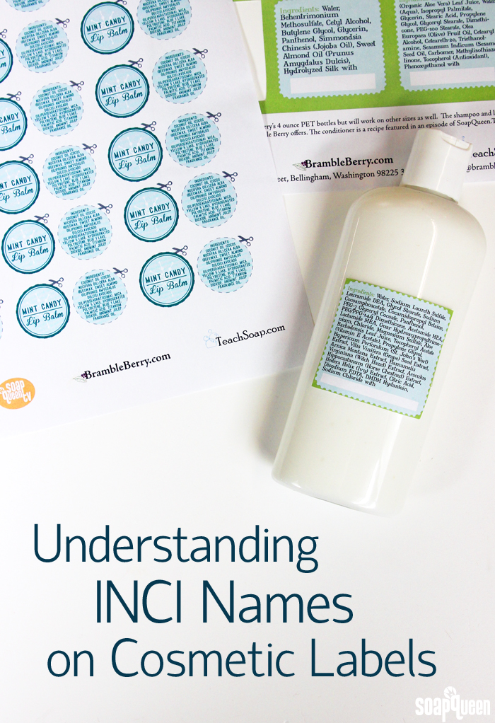Understanding INCI Names on Cosmetic Labels