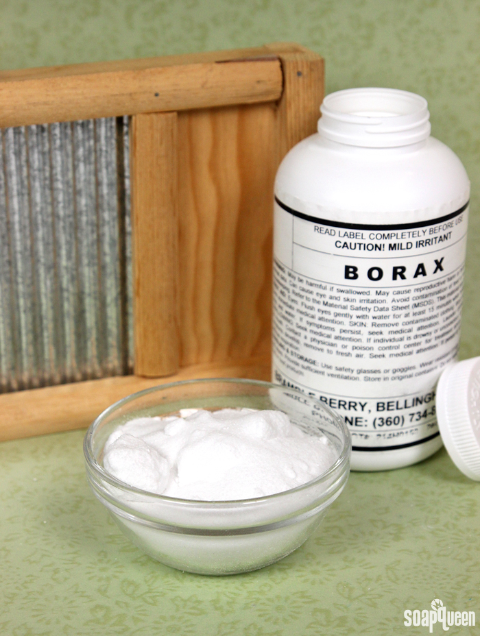 Borax is a great ingredient for creating your own cleaning products, such as laundry soap. Learn more about it here!