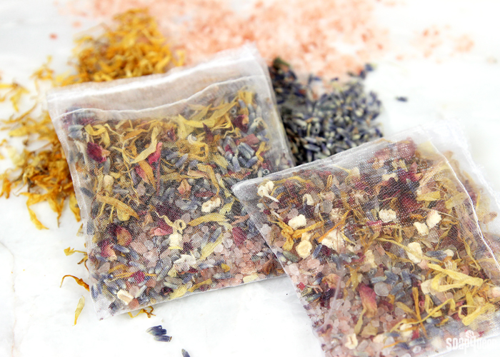 These natural potpourri squares are made with botanicals, salts and essential oils. They keep clothes and small spaces smelling great!