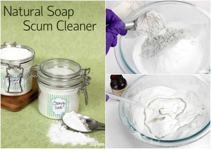 This post includes over 8 natural cleaning recipes, including laundry soap, dryer sheets and soap scum cleaner.