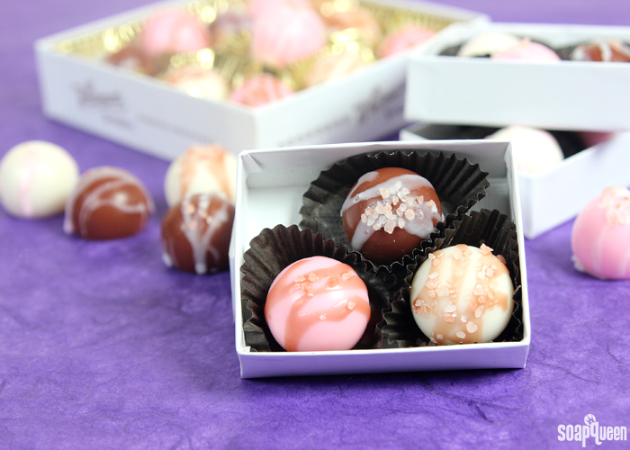 These delicious looking (and smelling) truffles are actually soap! Learn how to make them here.