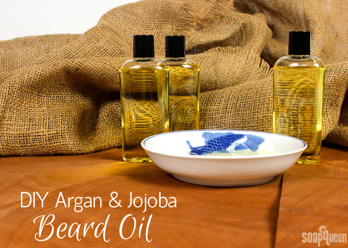 Learn how to create your own beard oil using jojoba and argan oils in this video tutorial. It can also be used for facial oil, massage oil or bath oil.