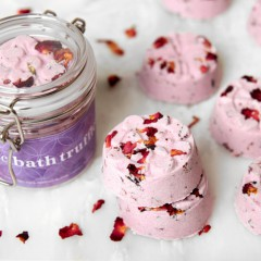 Heavenly Lilac Bath Truffles2